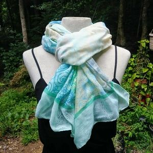 Accessories - 💙 Pastel Wrap Scarf #hundredsofscarves
